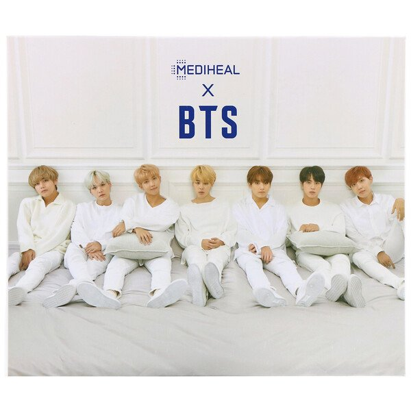 Mediheal, x BTS, Moisturizing Care Special Set, 10 Sheets, 490 ml (Discontinued Item)