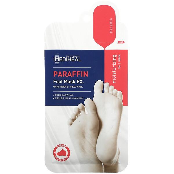 Paraffin Foot Mask EX, 1 Pair