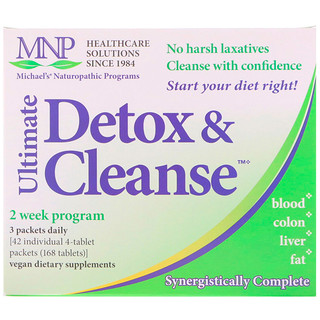 Michael's Naturopathic, Ultimate Detox & Cleanse, 42 Sachês