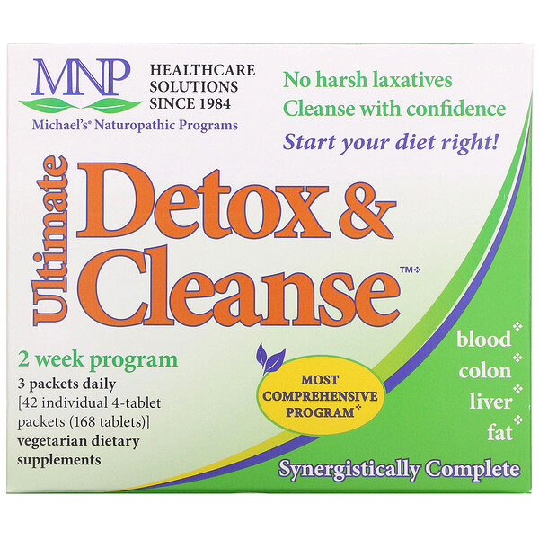 Ultimate Detox & Cleanse, 42 Packets