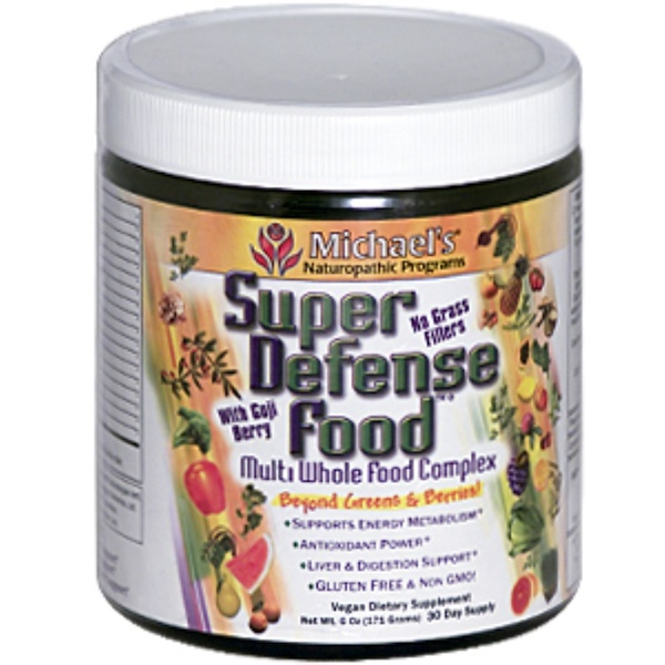 Michael's Naturopathic, Super Defense Food, Multi Whole Food Complex, 6 oz (171 g) (Discontinued Item)