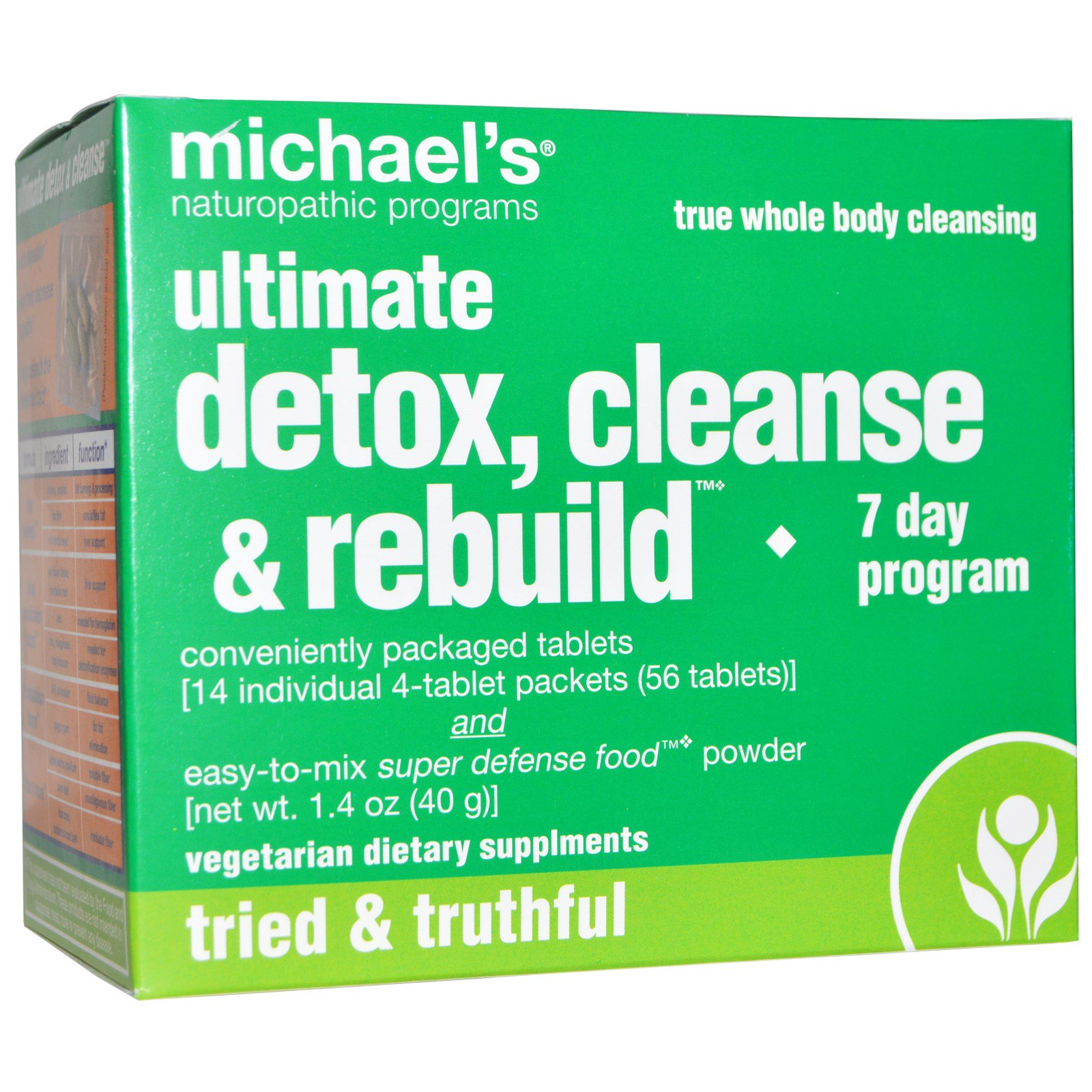 Michael\'s Naturopathic, Ultimate Detox, Cleanse & Rebuild, 7 Day ...