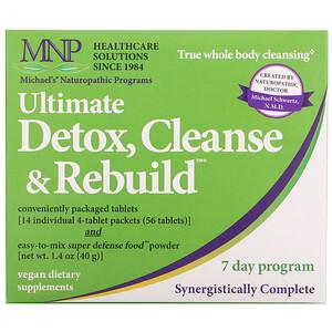 Майклс Нэчуропэтик, Ultimate Detox, Cleanse & Rebuild, 7 Day Program отзывы