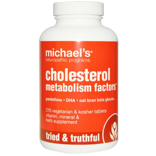 Michael's Naturopathic, Cholesterol Metabolism Factors, 270 Veggie Tablets (Discontinued Item)