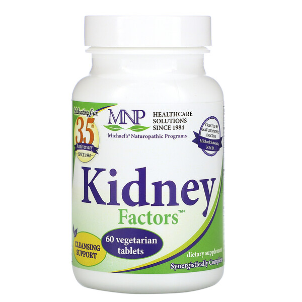 Kidney Factors, 60 Vegetarian Tablets