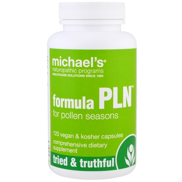 Michael's Naturopathic, Formula PLN, 120 Vegan & Kosher Capsules (Discontinued Item)