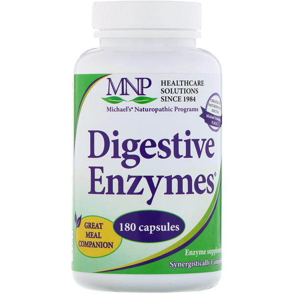 Michael's Naturopathic, Digestive Enzymes, 180 Capsules (Discontinued Item)