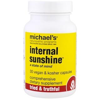 Michael's Naturopathic, Internal Sunshine, 30 Vegan & Kosher Capsules