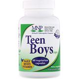 Отзывы о Michael's Naturopathic, Капсулы для мальчиков-подростков, Мультивитамины для ежедневного приема, 60 вегетарианских и кошерных капсул