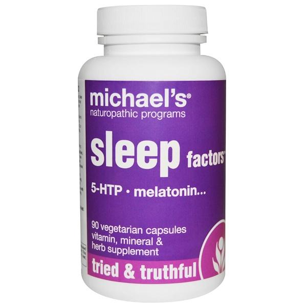 Michael's Naturopathic, Sleep Factors, 90 Veggie Caps (Discontinued Item)