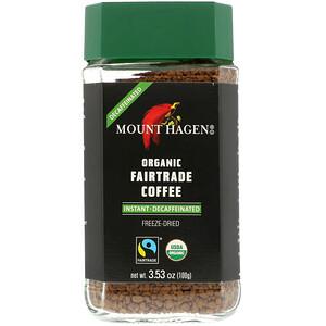 Маунт Хаген, Organic Fairtrade Coffee, Instant, Decaffeinated, 3.53 oz (100 g) отзывы