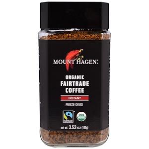 Маунт Хаген, Organic Fairtrade Coffee, Instant, Freeze Dried, 3.53 oz (100 g) отзывы покупателей