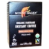 Mount Hagen, Organic Fairtrade Instant Coffee, 25 Packets, 1.76 oz (50 g) (Discontinued Item)