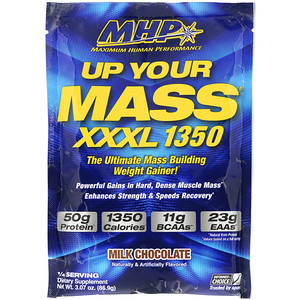 Максимум Хьюман Перворманс ЛЛС, Up Your Mass, XXXL 1350, Milk Chocolate, 3.07 oz (86.9 g) отзывы