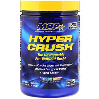 Maximum Human Performance, LLC, Hyper Crush, Rainbow Candy, 1 lb (450 g)