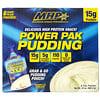MHP, Power Pak Pudding, Vanilla Cream, 6 Pouches, 4 oz (113.4 g) Each
