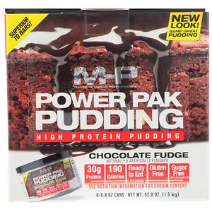 Максимум Хьюман Перворманс ЛЛС, Power Pak Pudding, Chocolate Fudge, 6 Cans, 8.8 oz (250 g) Each отзывы