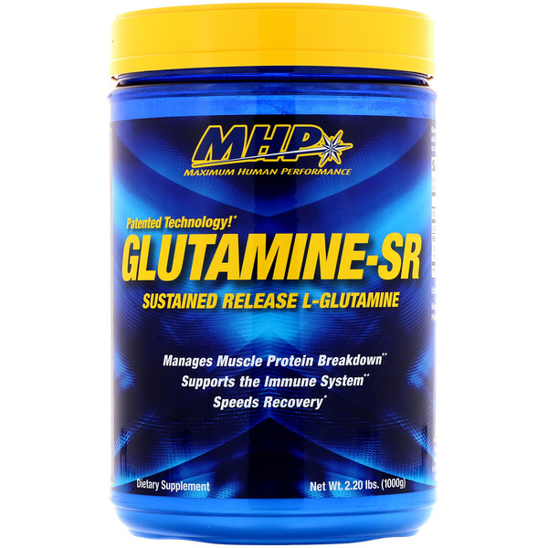 Maximum Human Performance, LLC, Glutamine-SR, 2.20 lbs (1000 g)