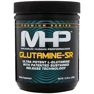 Maximum Human Performance, LLC, 글루타민-SR, 맛 무첨가, 10.6 온스 (300 g)