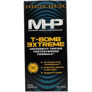 Maximum Human Performance, LLC, Tボム 3エクストリーム・168粒