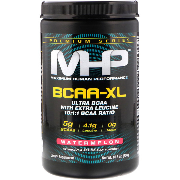 Maximum Human Performance, LLC, BCAA-XL, Watermelon, 10.6 oz (300 g) (Discontinued Item)