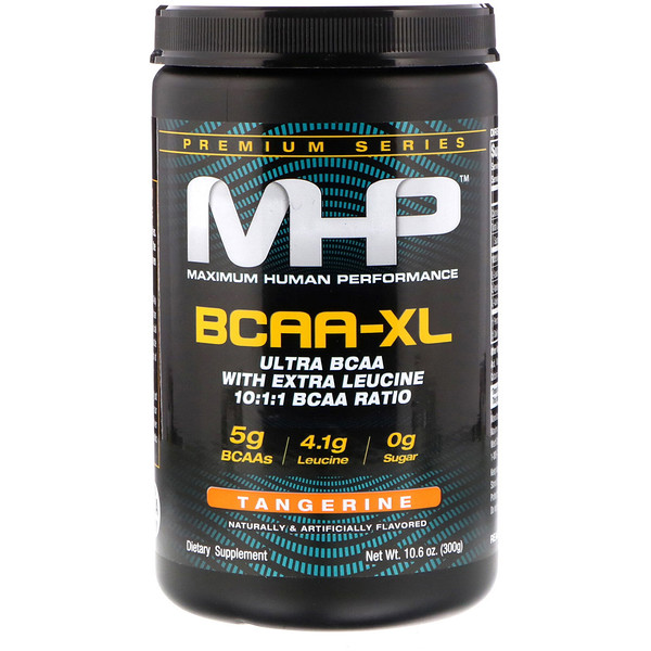MHP, BCAA-XL, Tangerine, 10.6 oz (300 g) (Discontinued Item)