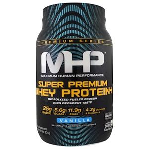 Максимум Хьюман Перворманс ЛЛС, Super Premium Whey Protein, Vanilla, 1.82 lbs (825 g) отзывы