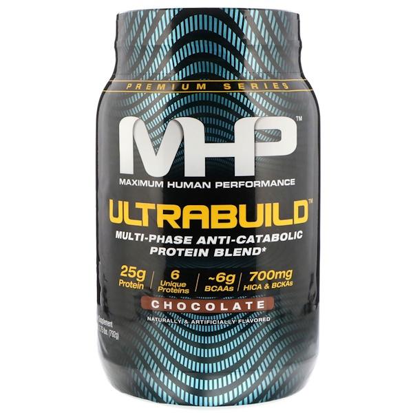Maximum Human Performance, LLC, UltraBuild, Chocolate, 1、75 lb (792 g)