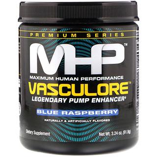Maximum Human Performance, LLC, Vasculore, Legendary Pump Enhancer, Blue Raspberry, 3.24 oz (91.8 g)