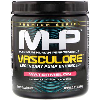 Maximum Human Performance, LLC, Vasculore, Legendary Pump Enhancer, Watermelon, 3.28 oz (93 g)
