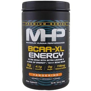 Maximum Human Performance, LLC, 프리미엄 시리즈, 분지 사슬 아미노산-XL 에너지, 감귤, 10.6 oz (300 g)