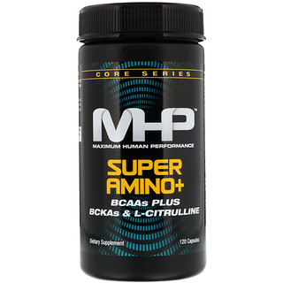 Maximum Human Performance, LLC, Super Amino+, 120 Capsules