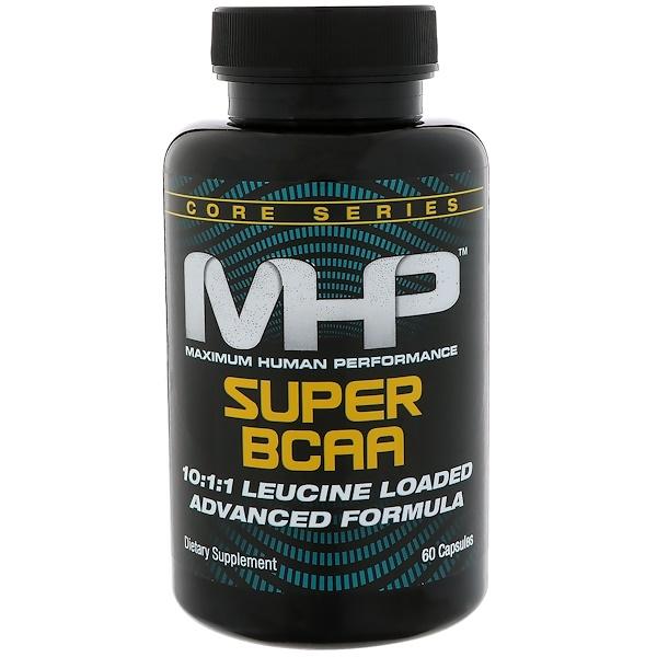 Maximum Human Performance, LLC, 超級支鏈氨基酸,60粒膠囊
