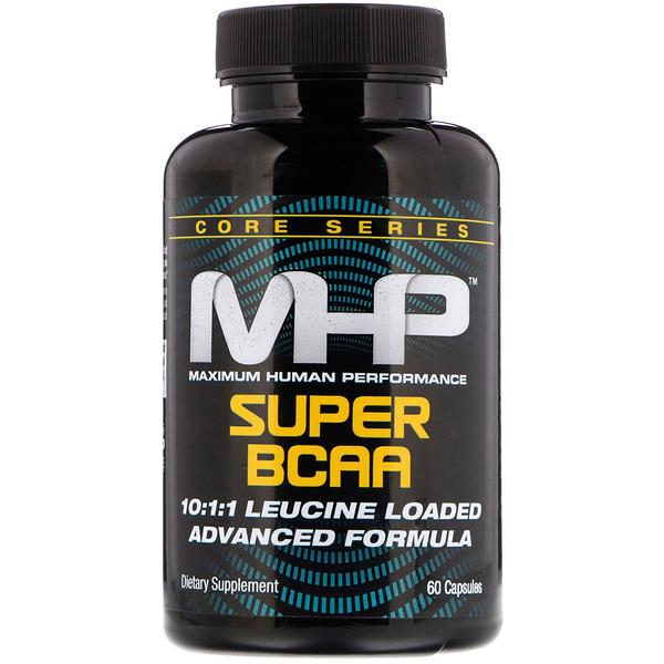 Maximum Human Performance, LLC, Супер аминокислоты с разветвленной цепью, 60 капсул (Discontinued Item)