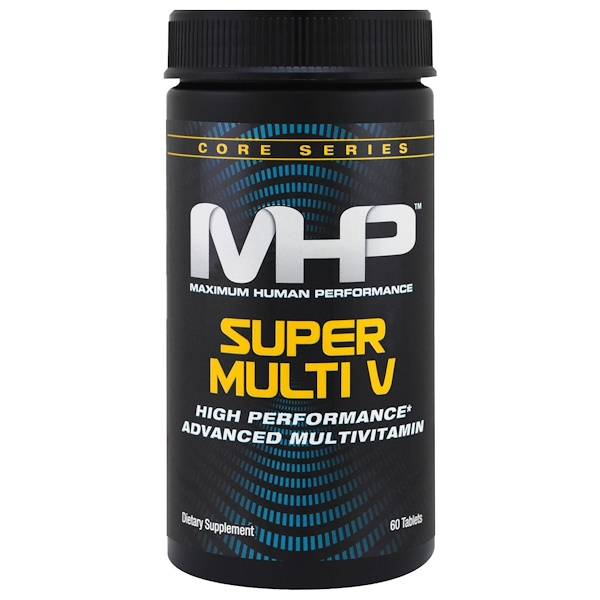 MHP, Core Series, Super Multi V, 60 Tablets (Discontinued Item)