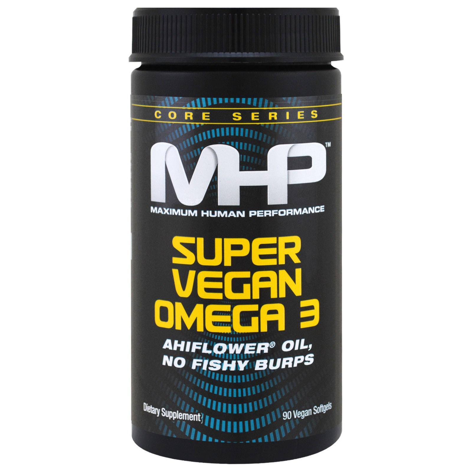 Maximum Human Performance, LLC, Серия Core, супер растительные кислоты омега 3, 90 растительных мягких капсул