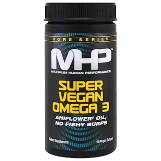 Maximum Human Performance, LLC, Super Vegan Omega 3, 90 Vegan Softgels