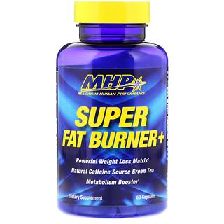 Maximum Human Performance, LLC, Super Fat Burner+, 60 Capsules