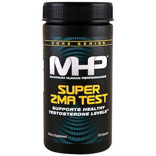 Maximum Human Performance, LLC, Super ZMA Test, 120 Capsules