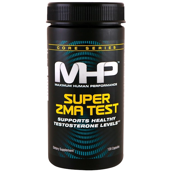 MHP, Super ZMA Test, 120 Capsules (Discontinued Item)