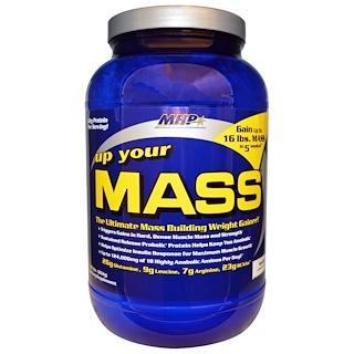 Maximum Human Performance, LLC, 업 유어 매스, 바닐라, 1.91 lbs (862 g)