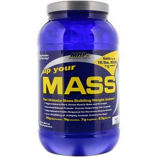 Maximum Human Performance, LLC, Up Your Mass, Vanilla, 1.91 lbs (862.4 g)