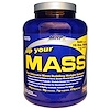 MHP, Up Your Mass, Fudge Brownie, 4.7 lbs (2154 g) (Discontinued Item)