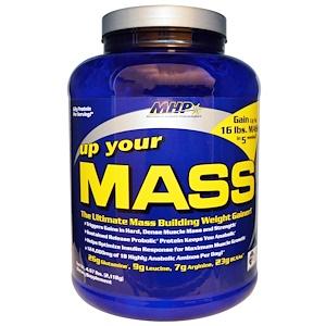 Максимум Хьюман Перворманс ЛЛС, Up Your Mass, Weight Gainer, Cookies 'n Cream, 4.67 lbs (2,118 g) отзывы