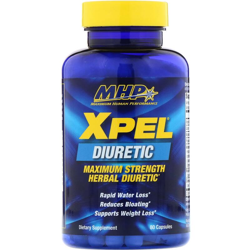 MHP, Xpel, Maximum Strength Herbal Diuretic, 80 Capsules - photo 2