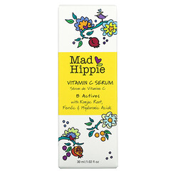 Mad Hippie Skin Care Products, 維生素 C 精華,8 種活性成分,1.02 液量盎司(30 毫升)