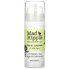 Mad Hippie Skin Care Products, 面霜,15 種活性成分,1.0 液體盎司(30 毫升)