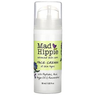 Mad Hippie Skin Care Products, Gesichtscreme, 15 aktive Wirkstoffe, 30 ml