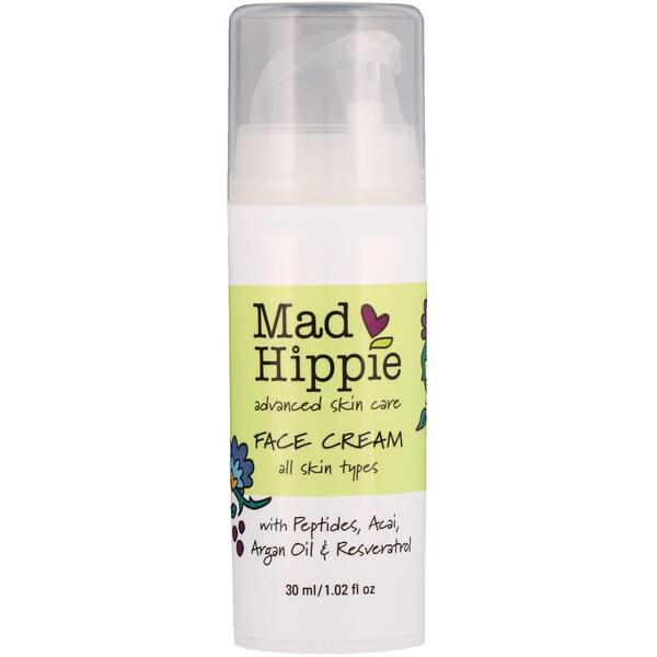 Face Cream, 15 Actives, 1.0 fl oz (30 ml)