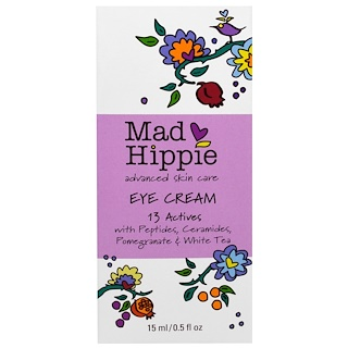 Mad Hippie Skin Care Products, Eye Cream, 13 Actives, 0.5 fl oz (15 ml)